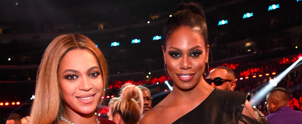 Laverne Cox Finally Met Beyoncé at the Grammys, and It Was Everything She Thought It'd Be