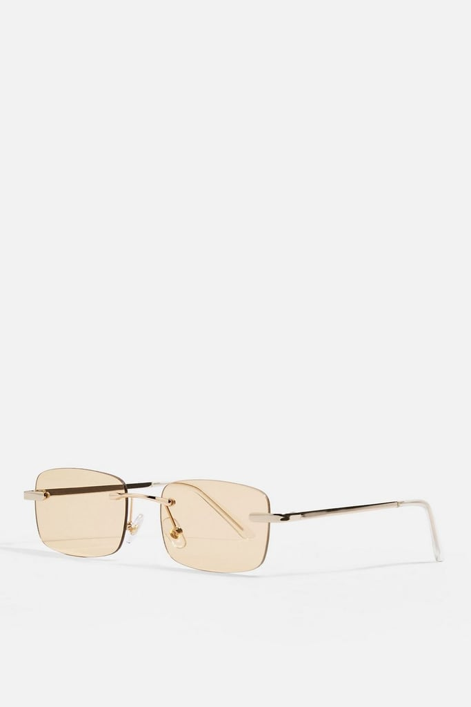 Topshop Bella Rimless Sunglasses