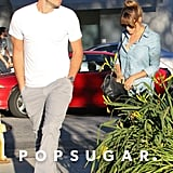 Lauren Conrad and William Tell visited a chiropractor's office.