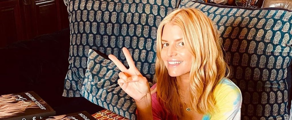Jessica Simpson Wears No Makeup on Glamour Cover 2020