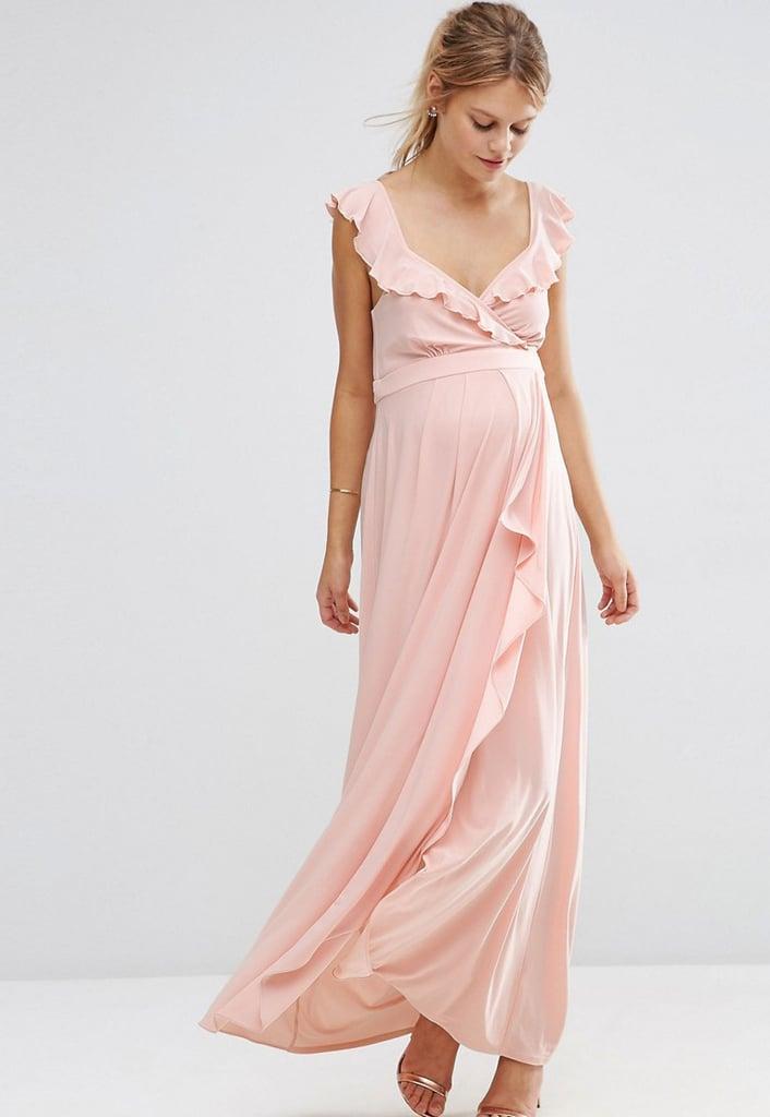 A Casual Wedding Maternity Dresses For Wedding Guests POPSUGAR