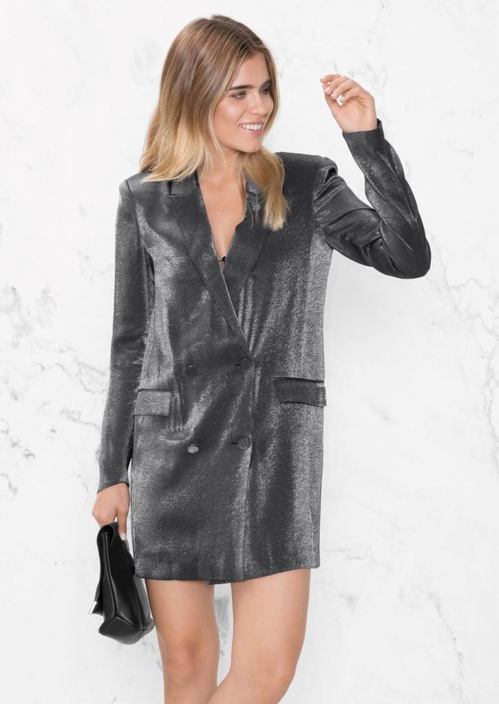 A tuxedo-style option like this & Other Stories Blazer Dress ...