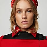 Prada Bow-Detailed Embellished Satin Headband