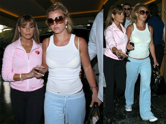 Photos of Britney After Secret Custody Meeting With Kevin