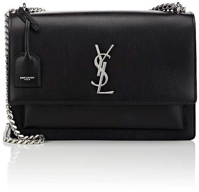4896882369 Saint Laurent Women s Monogram Sunset Large Leather Satchel ...