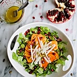 Persimmon, Jicama, and Pomegranate Salad