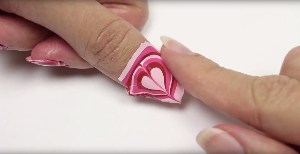 Before putting these stunning decals on your nails, apply a topcoat ...