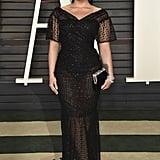 Demi Lovato at the Vanity Fair Oscars Party