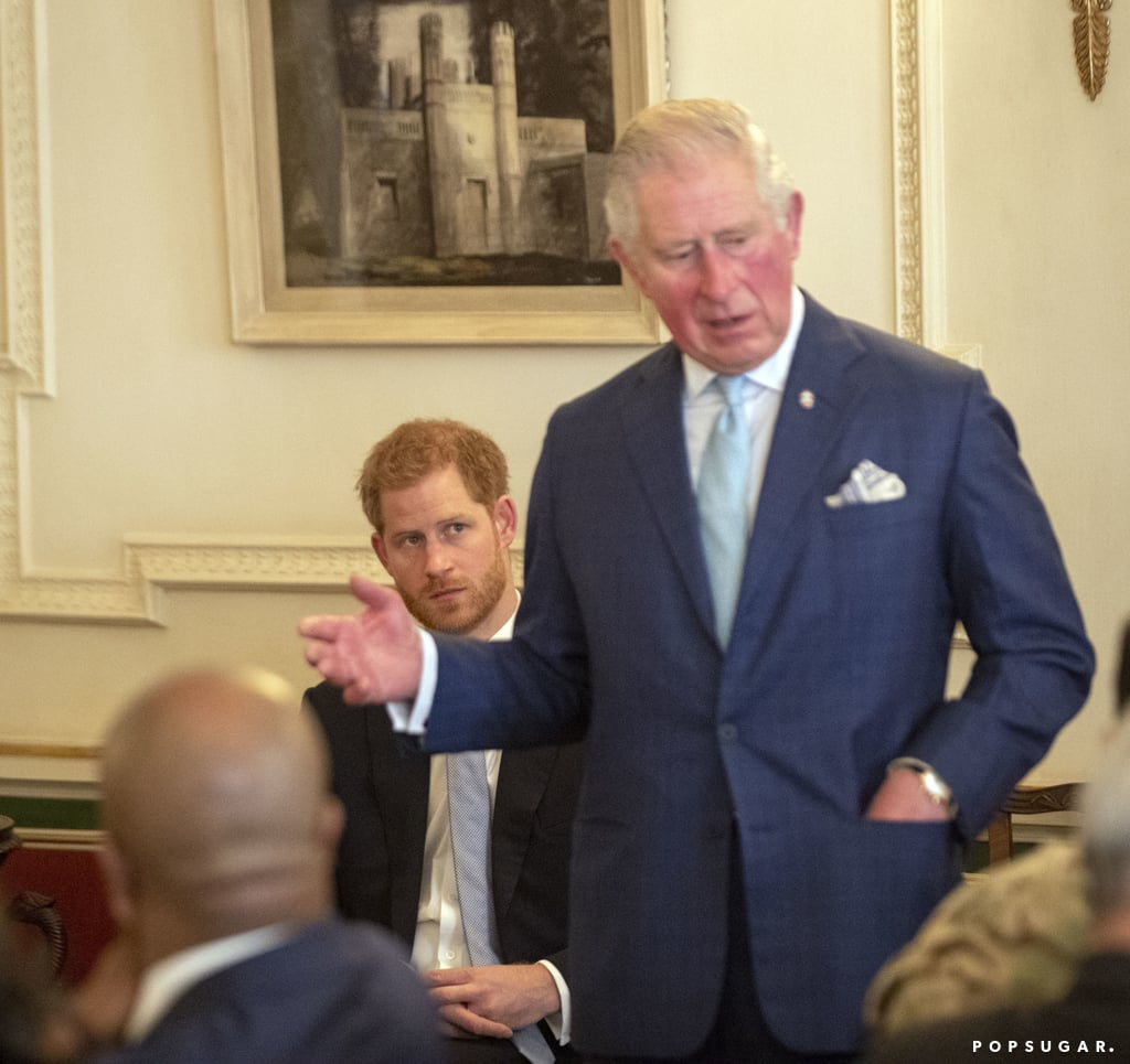 Prince Harry And Prince Charles Youth Violent Crime Forum