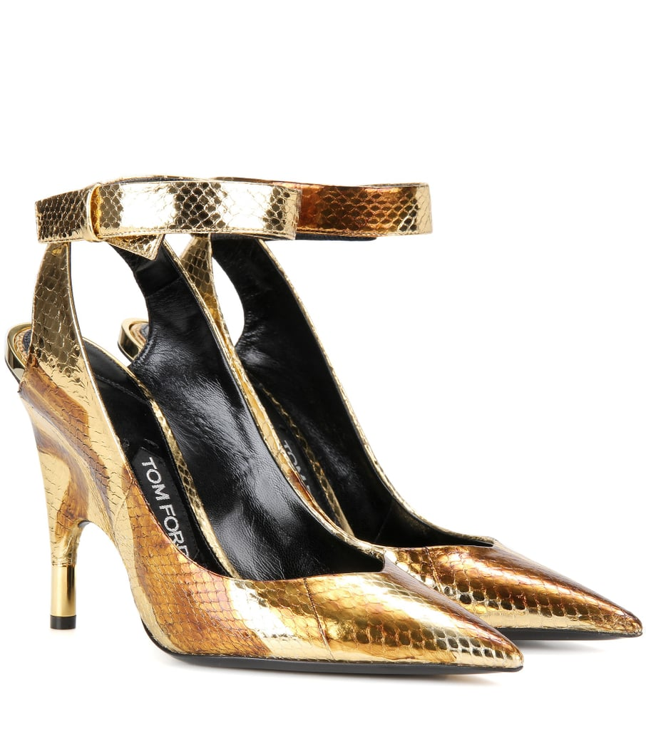 Metallic snakeskin pumps Tom Ford moHY6KUzsY