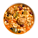 Tiller & Hatch Southwestern Style Minestrone Soup With Meatballs