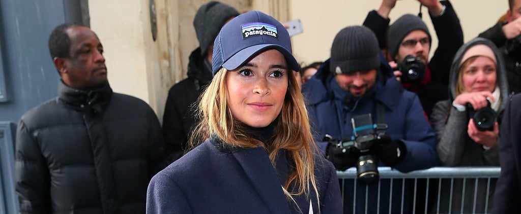 This Street Style Star Is Showing Up All Over Couture Week in a Patagonia Baseball Cap