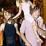 Sofia Coppola flashed a smile as she hit the town with Romy Mars and Thomas Mars.