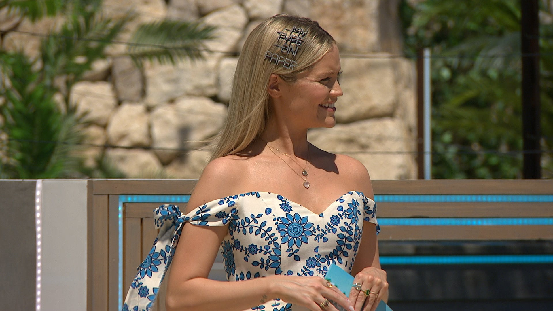 This image and the information contained herein is strictly embargoed until 21.00 Sunday 27th June 2021From Lifted EntertainmentLove Island: SR7: Ep1 on ITV2 and ITV Hub new episodes are available the following morning on BritBoxPictured: Laura.This photograph is (C) ITV Plc and can only be reproduced for editorial purposes directly in connection with the programme or event mentioned above, or ITV plc. Once made available by ITV plc Picture Desk, this photograph can be reproduced once only up until the transmission [TX] date and no reproduction fee will be charged. Any subsequent usage may incur a fee. This photograph must not be manipulated [excluding basic cropping] in a manner which alters the visual appearance of the person photographed deemed detrimental or inappropriate by ITV plc Picture Desk.  This photograph must not be syndicated to any other company, publication or website, or permanently archived, without the express written permission of ITV Picture Desk. Full Terms and conditions are available on the website www.itv.com/presscentre/itvpictures/termsFor further information please contact:james.hilder@itv.com / 0207 157 3052