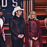 Faith Hill and Tim McGraw at the 2017 CMA Awards