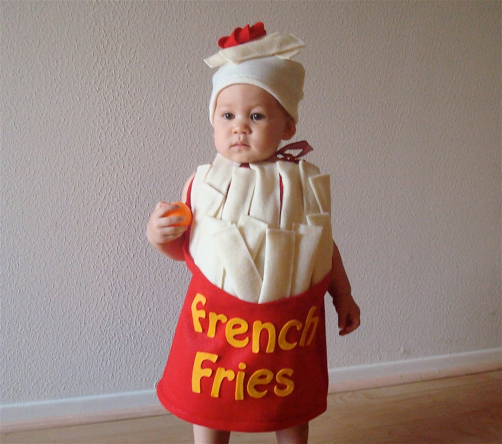 baby french fry costume | warm halloween costumes for babies