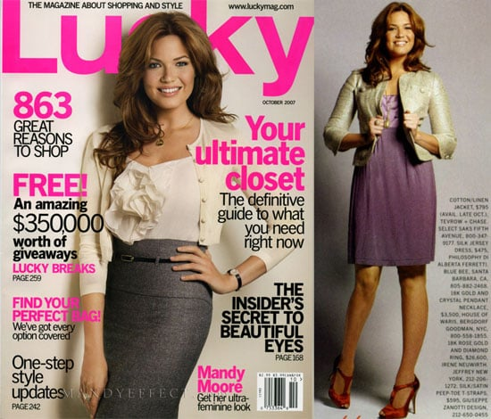Lucky Magazine Loves Mandy