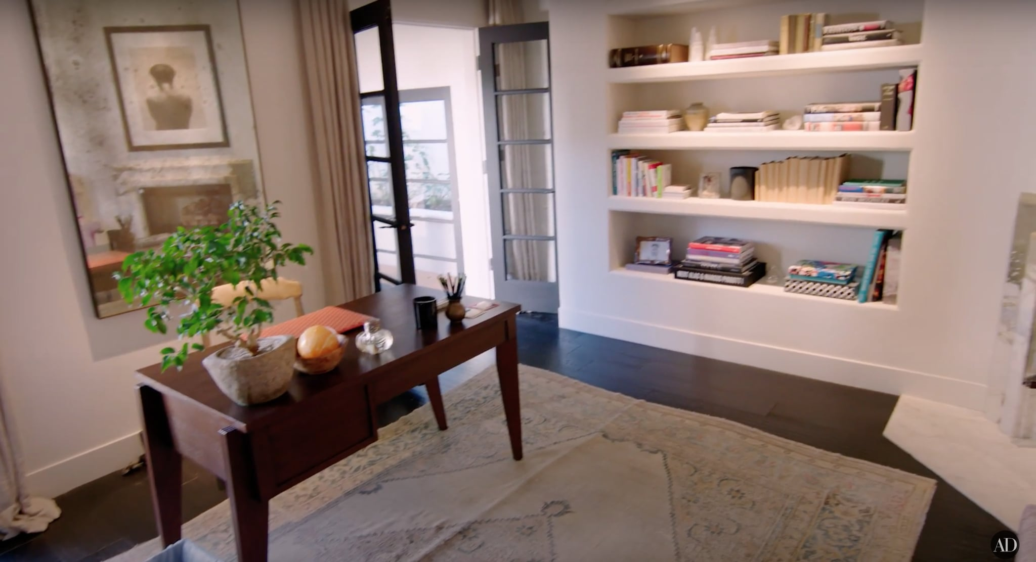 Kendall Jenner Shows Off Her LA Home in Architectural Digest | POPSUGAR Home