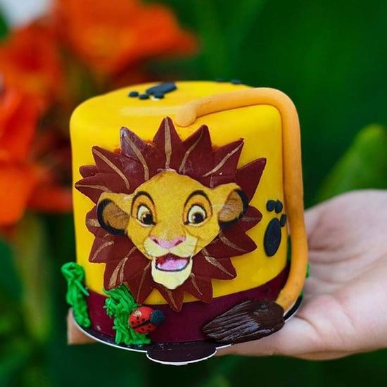 Lion King Cake at Disney World