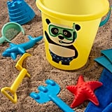 7-Piece Panda Sand Bucket Set