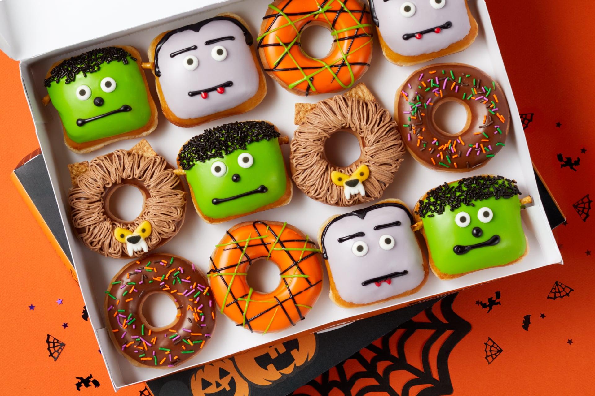 Krispy Kreme Halloween Doughnuts 2020 Flavors Krispy Kreme's Halloween Doughnuts 2020 | POPSUGAR Food