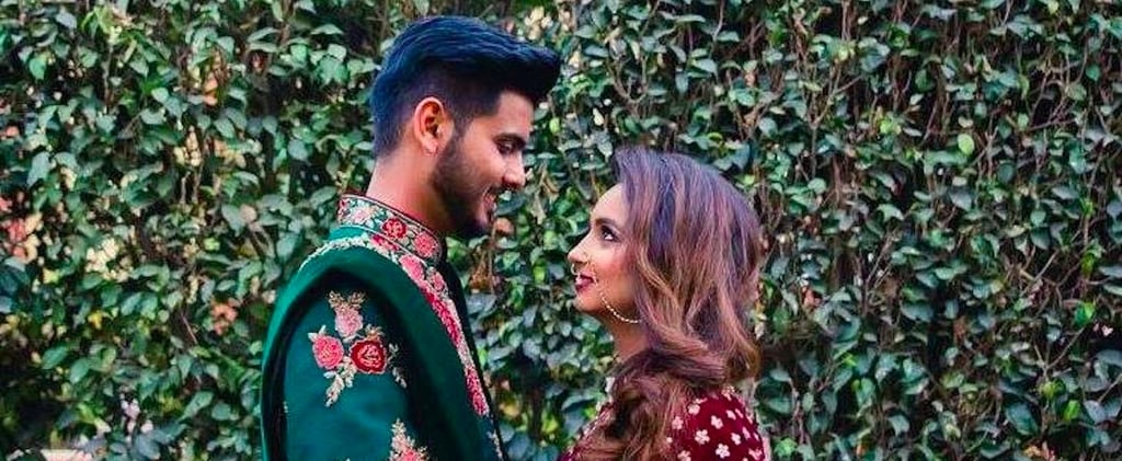 This Dubai-Based Couple's Non-Traditional Wedding Is Inspiring the Internet