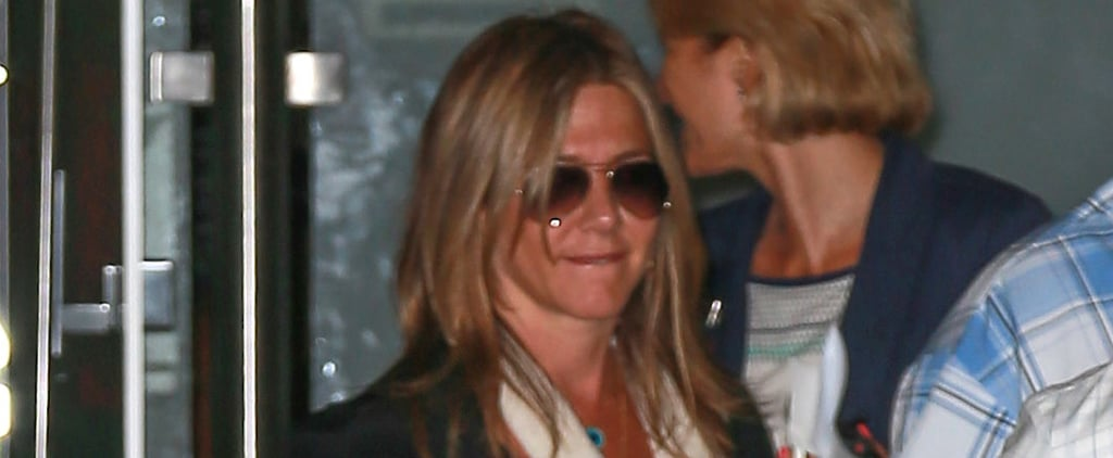 Jennifer Aniston Returns Stateside and Her Outing May Look Eerily Familiar