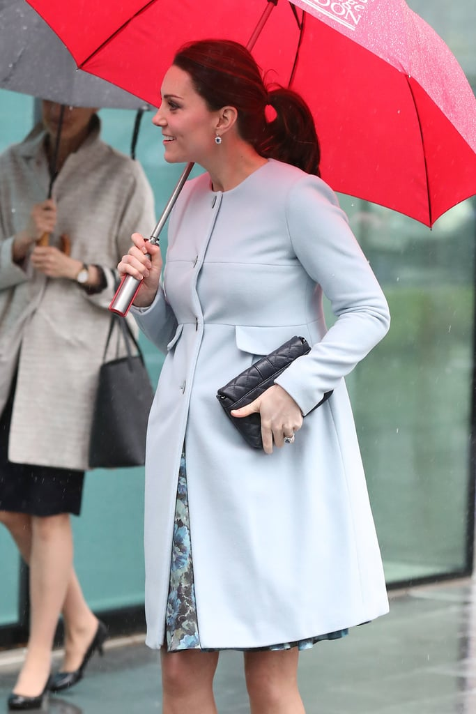 Kate Middleton's Quilted Clutch