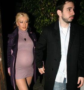 Christina's a Mom!