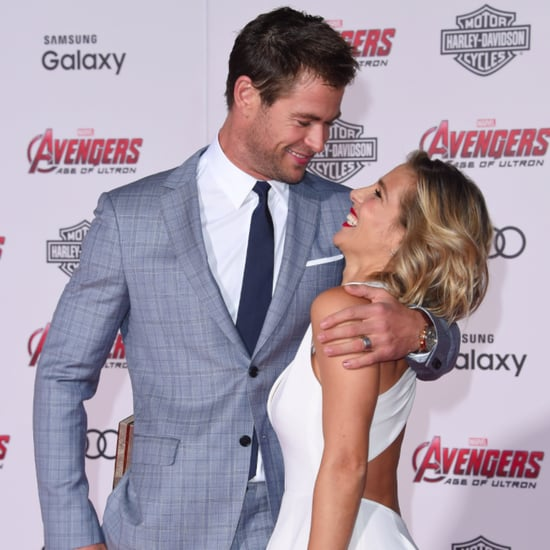 Chris Hemsworth and Elsa Pataky Cutest Red Carpet Pictures