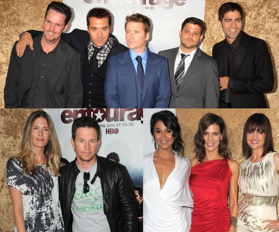 Pictures of Jeremy Piven, Kevin Connolly, Maria Menounos, Adrian Grenier, And Mark Wahlberg at The Premiere of Entourage 2010-06-17 16:30:00