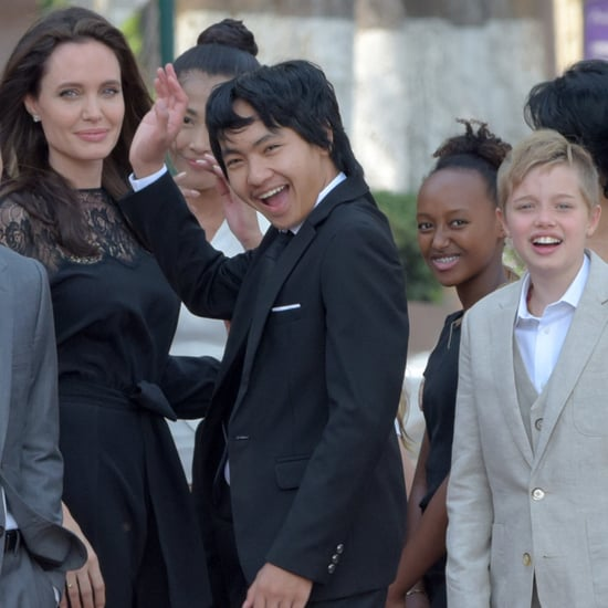 Angelina Jolie Talks About Her Kids March 2017