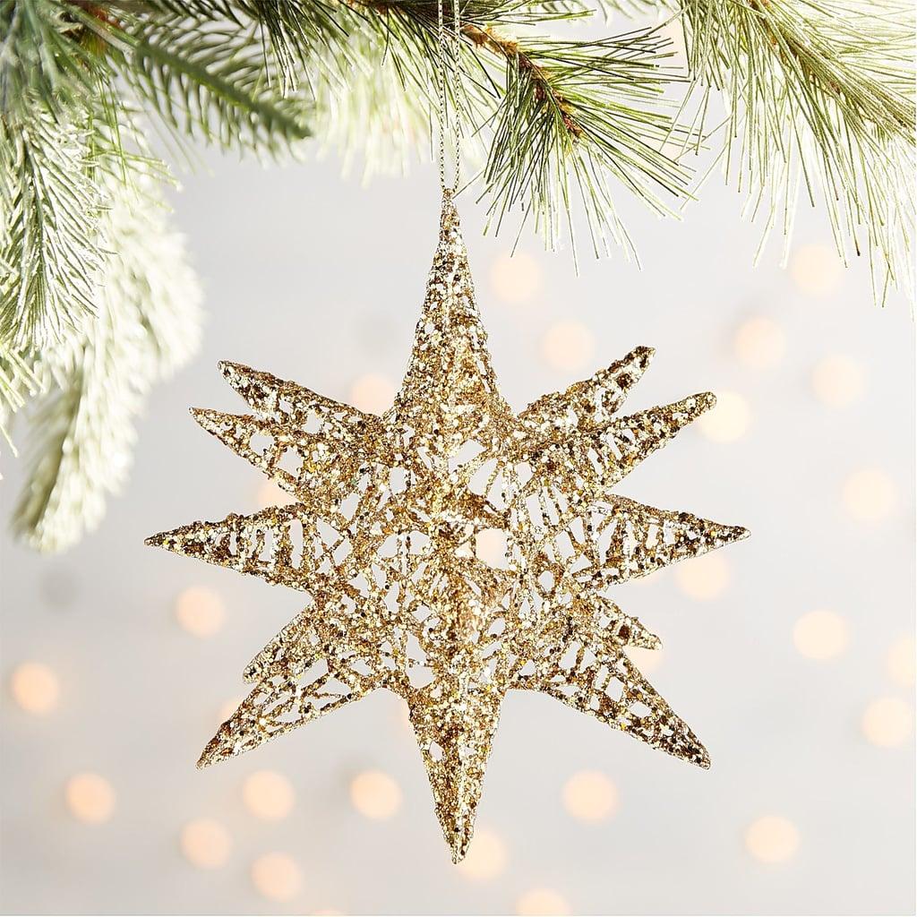 Gold Wire Star Ornament