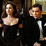 Blair Waldorf's Evening-Date Style: A Black Gown and Full-Length Gloves