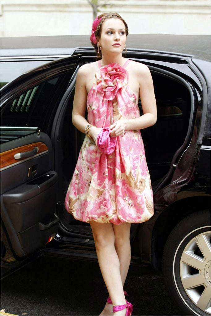 Leighton Meester Dressing Like Blair Waldorf on Gossip Girl