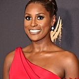 Issa Rae at the 2017 Emmy Awards