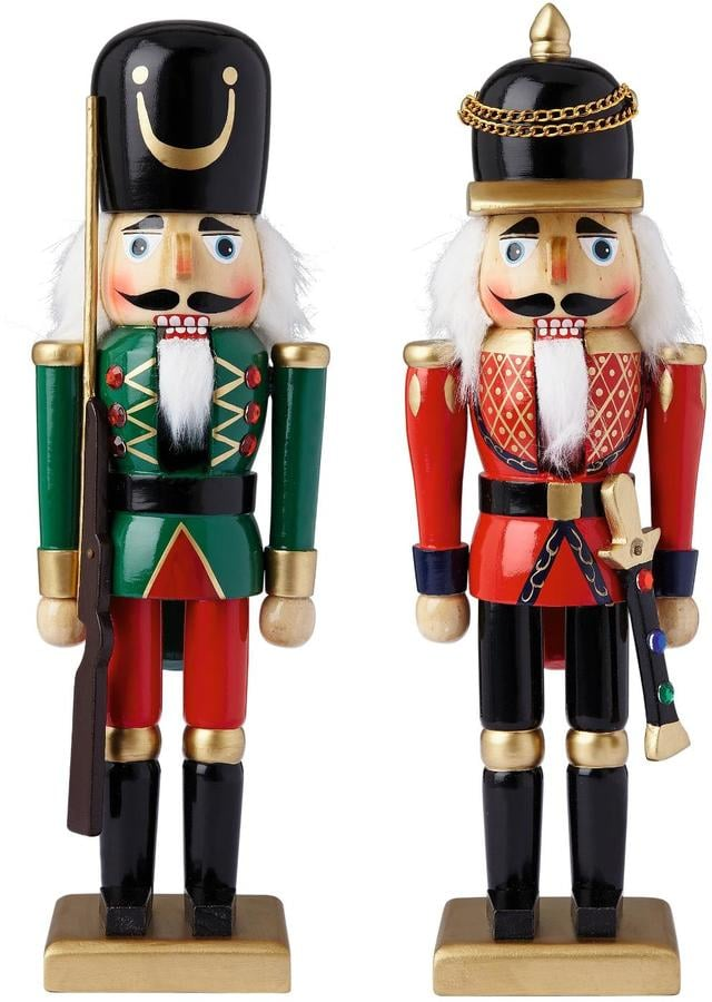 very wooden nutcracker soldiers christmas decorations 18 - Christmas Soldier Decorations