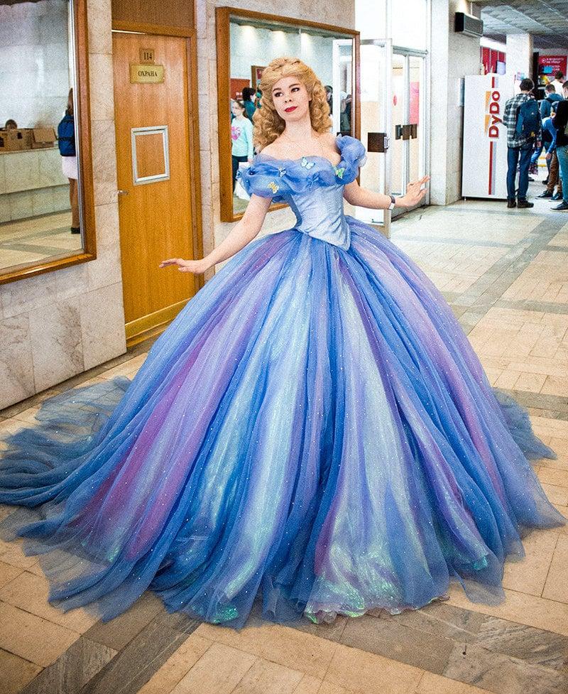 Cinderella Costume  sc 1 st  Popsugar & Cinderella Costume | Elaborate Costumes on Etsy | POPSUGAR Love ...