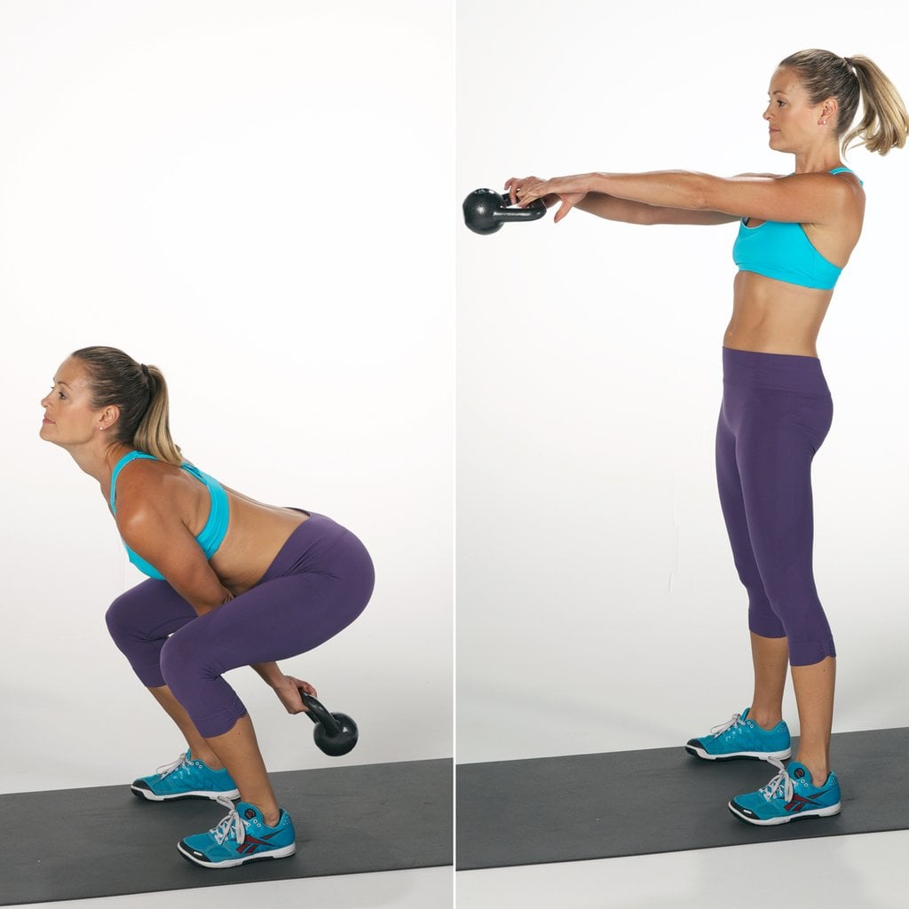 Circuit 2, Exercise 3: Kettlebell Swing
