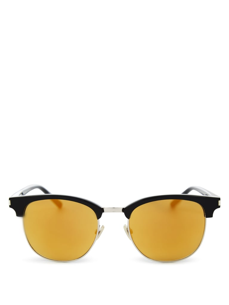 Saint Laurent Mirrored sunglasses ($299)