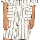 Adelyn Rae Stripe Shirt Dress