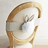 Bunny Tail Chair Decor ($8, originally $10)