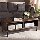 Silvester Brown & Dark Gray Coffee Table