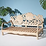 Get the Look: Handcarved Lotus Indoor-Outdoor Daybed