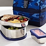 Stainless Steel Retro Lunch Bag Food Storage Set