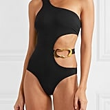 Agent Provocateur Sierah Embellished Cutout Swimsuit