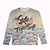 Stella x Taylor Swift Clouds Airbrush Long-Sleeve Tee