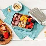 LunchBots Mini Stainless Steel Food Box With Portion Control Sections