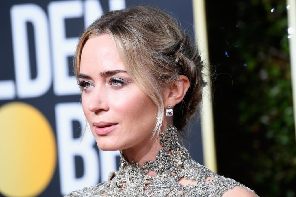 Emily Blunt at the Golden Globes
