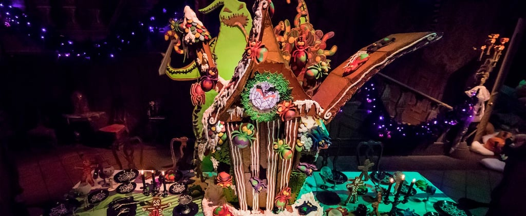 You Have to See the 7-Foot-Tall Gingerbread House in Disneyland's Haunted Mansion!